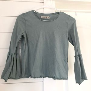 A&F Cropped Blouse